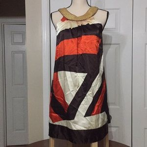 Charlotte Russe Color Block Sleeveless Dress